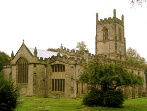St. Helen's Church—Ashby-de-la-Zouch: The parish church of Ashby where Hildersham preached throughout his ministerial career as lecturer and vicar.