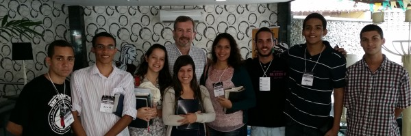With Young Brazilians Hungry for the Word