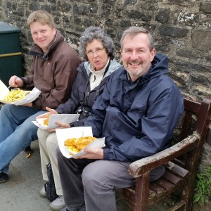 Fish and Chips with David Woollin