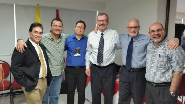 With Some Speakers, Organizers, and My Translator
