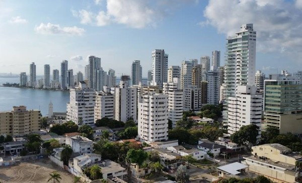 View of Cartagena, Colombia from Our Hotel