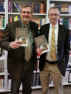 With Bill VanDoodewaard on the Arrival of His Book